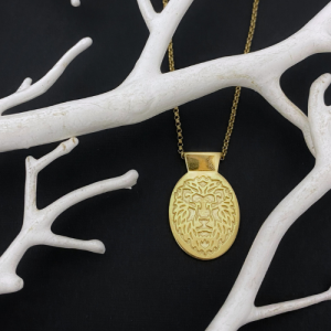ONEIRO | Lion - Necklace - Gold