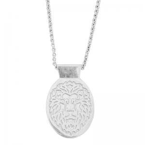 ONEIRO | Lion - Necklace - Silver