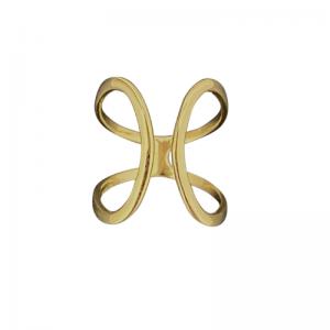 CURVACEOUS | Cuff - Ring - Gold