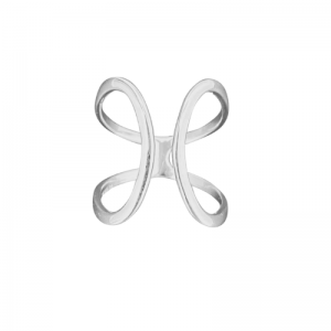 CURVACEOUS | Cuff - Ring - Silver