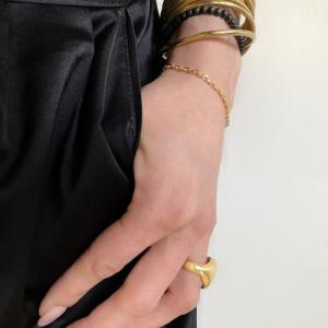 BAGUETTE | Classic - Bracelet - 18 Karat Gold