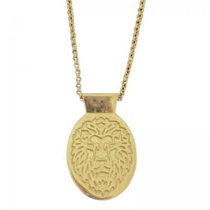 ONEIRO | Lion - Necklace - 18 Karat Gold