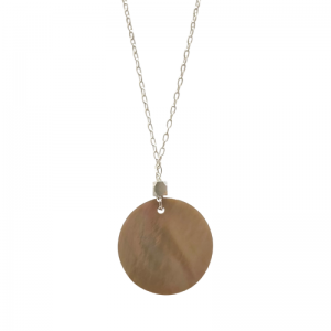 COSMIC SPOT | Charon - Necklace - Silver