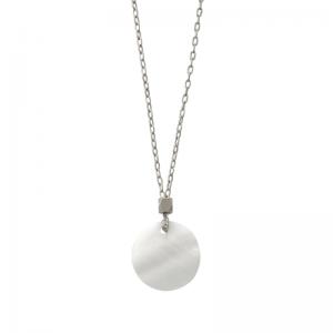 COSMIC SPOT | Enceladus - Necklace - Silver