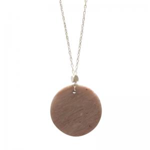 COSMIC SPOT   Mars - Necklace - Silver