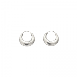 CURVACEOUS | Crescent Tusk Small - Creole - Silver