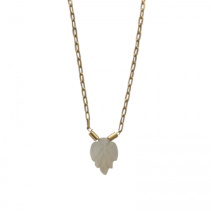 GARDEN EDEN | Foliage Paperwhite - Necklace - Gold